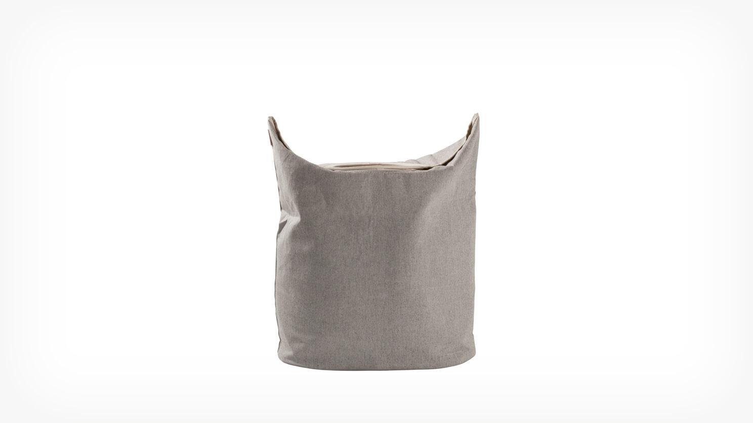 Truss Laundry Hamper Light Grey Eq3