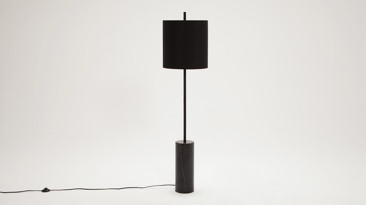 Drum Floor Lamp