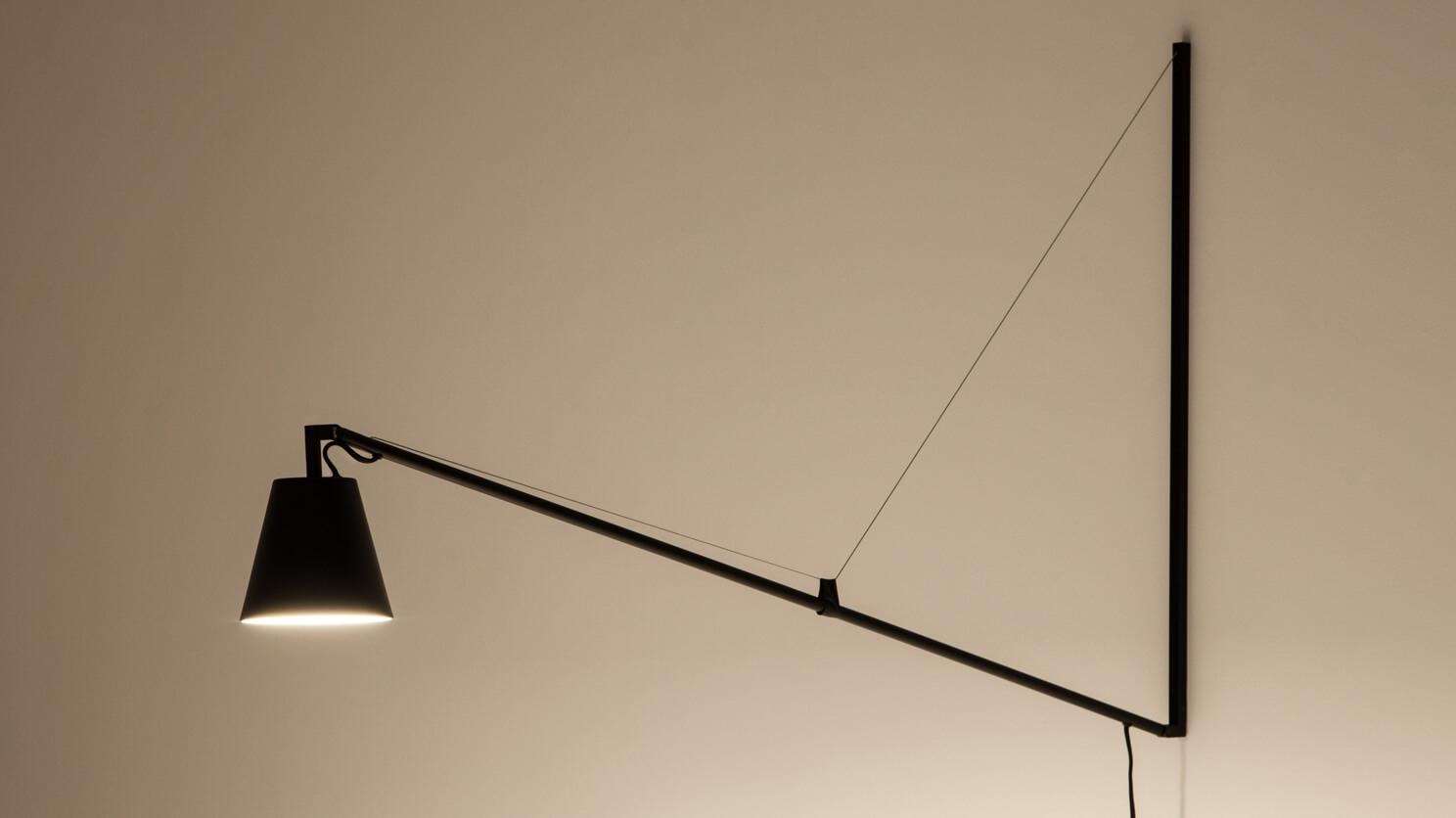 Petrie Swing Arm Wall Lamp