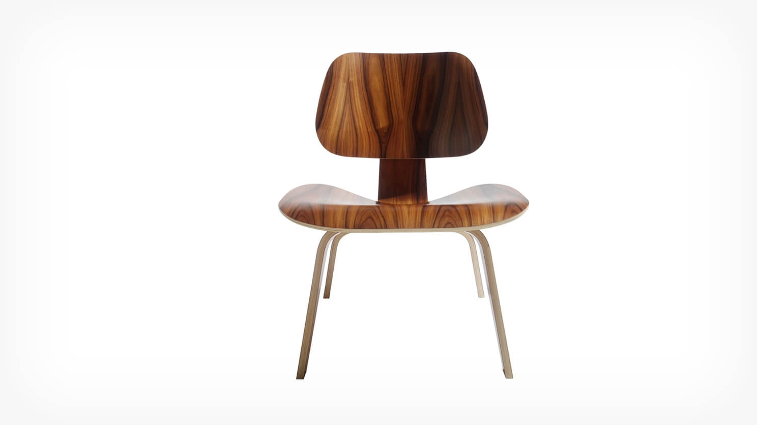 Eames® Molded Plywood Lounge Chair