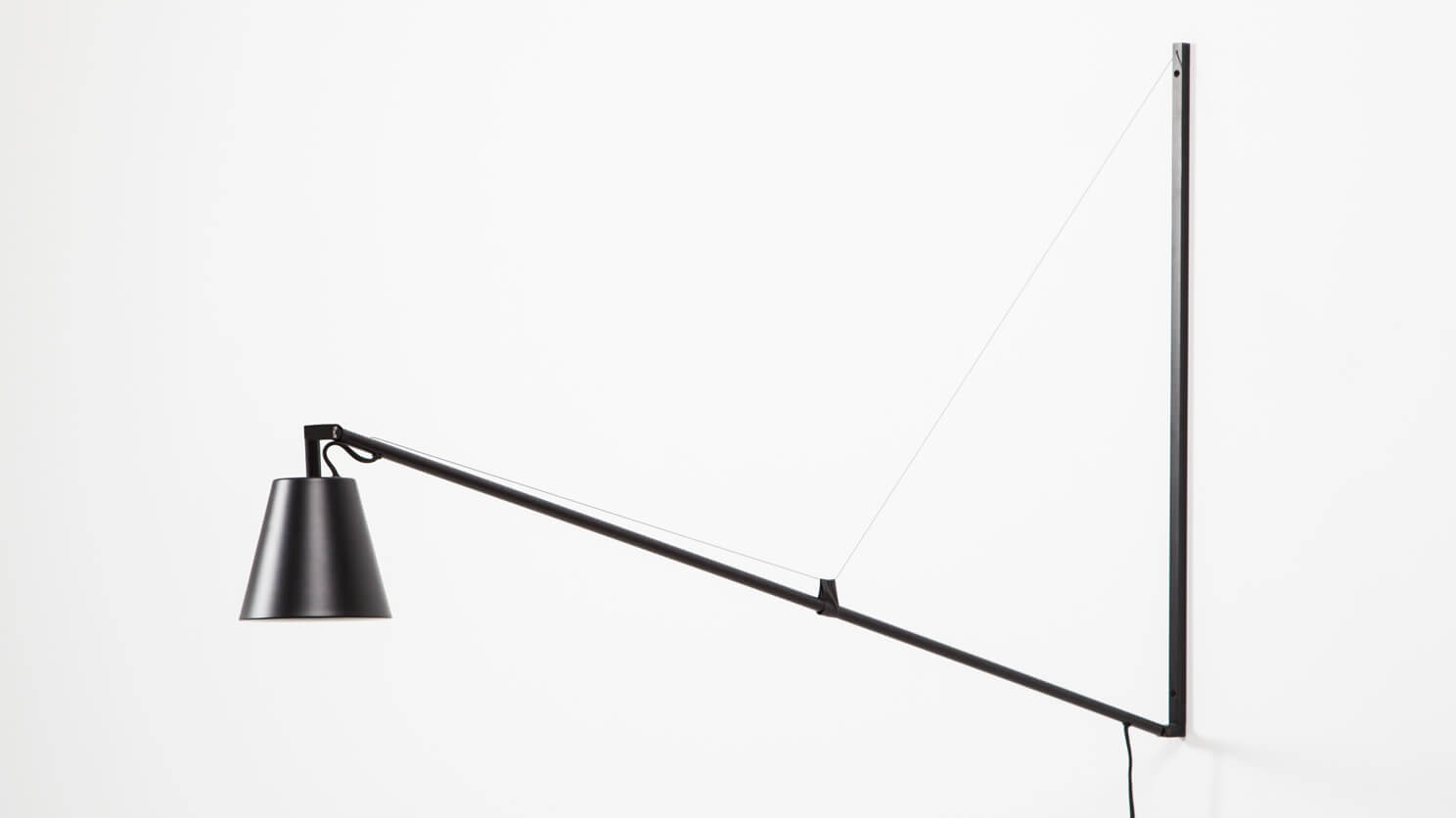 Petrie Swing Arm Wall Lamp