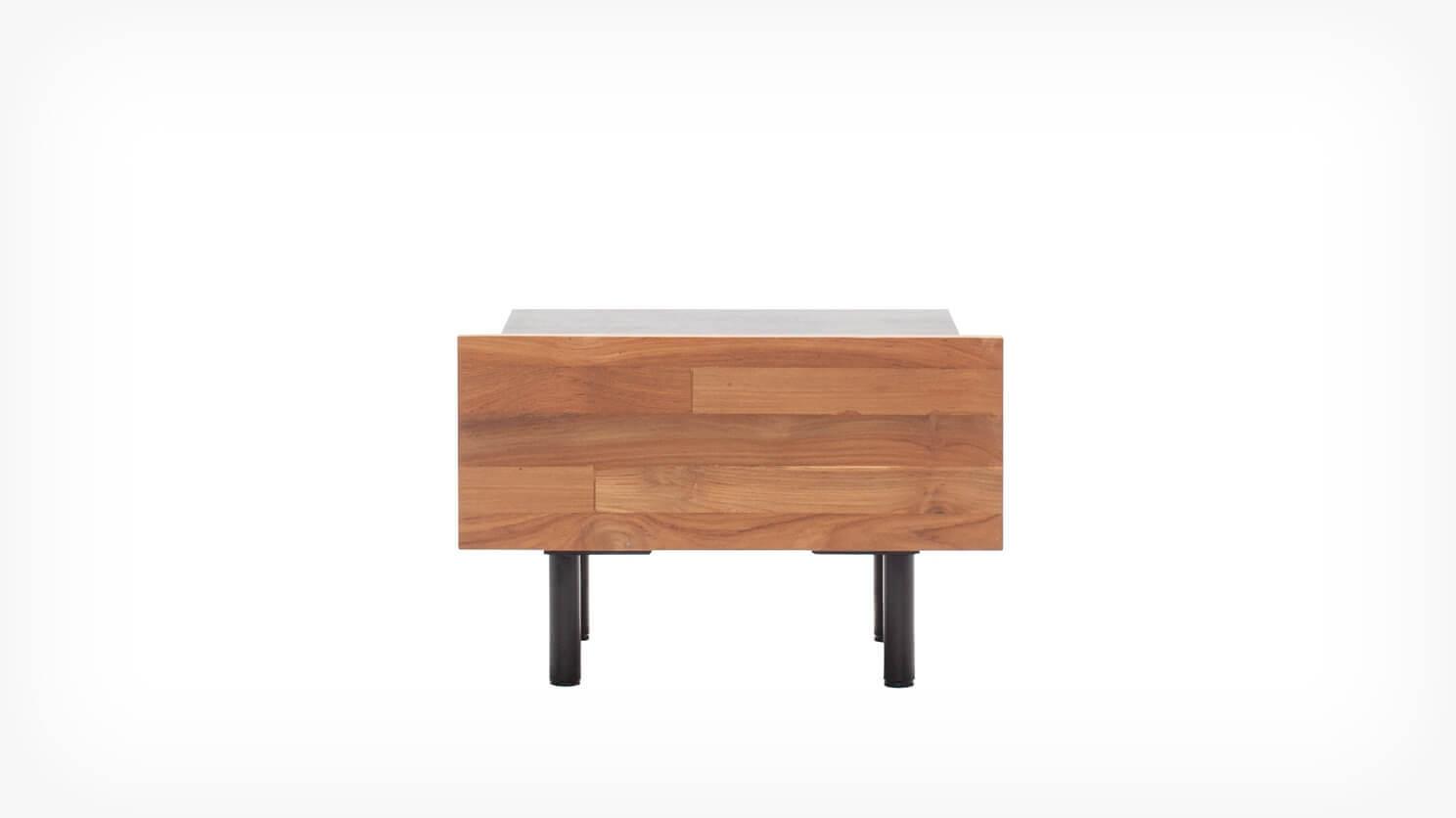 Picture of: Reclaimed Teak Nightstand Teak Wood Furniture From Eq3