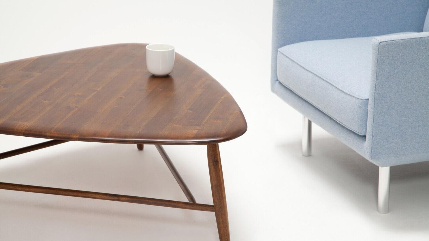 Kacia Tri Coffee Table Modern Rustic Coffee Table Eq3 [ 836 x 1488 Pixel ]