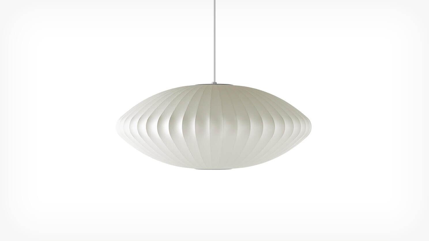 Nelson Saucer Bubble Pendant Lamp Herman Miller Lighting