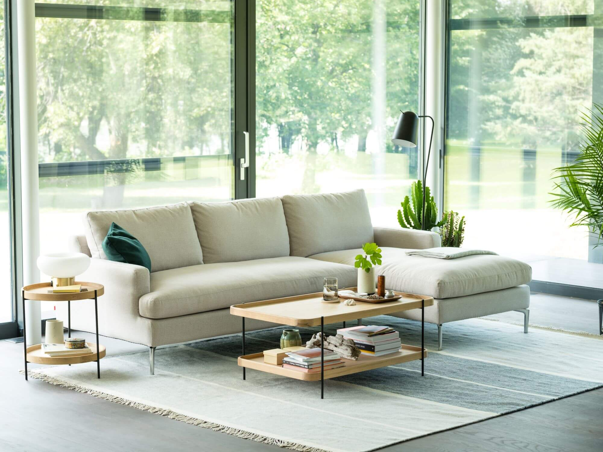 Eve Sectional Sofa With Chaise Eq3