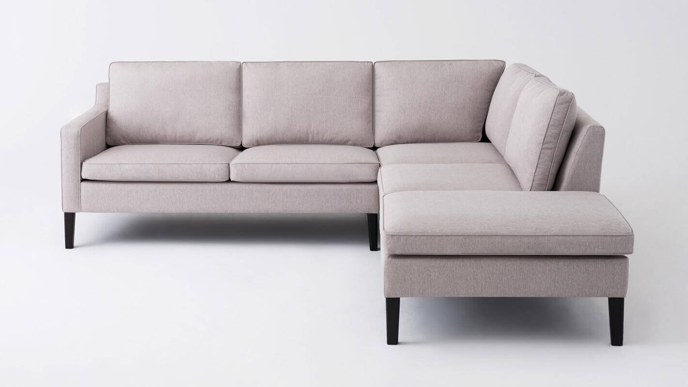 Customize Your Skye Sectional Sofa With Corner Chaise Eq3