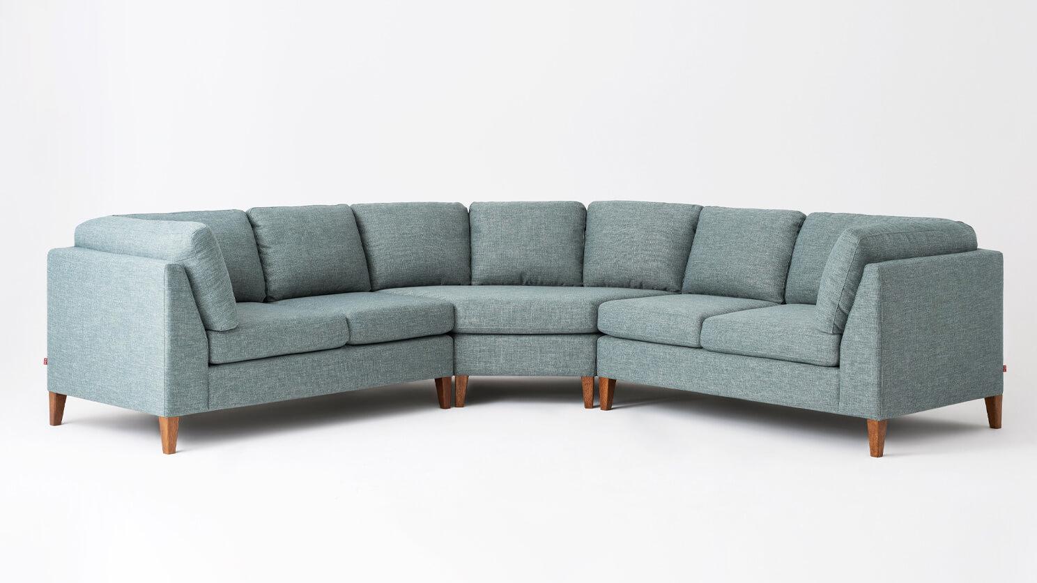 Ma 3 Piece Modern Sectional Sofa Eq3