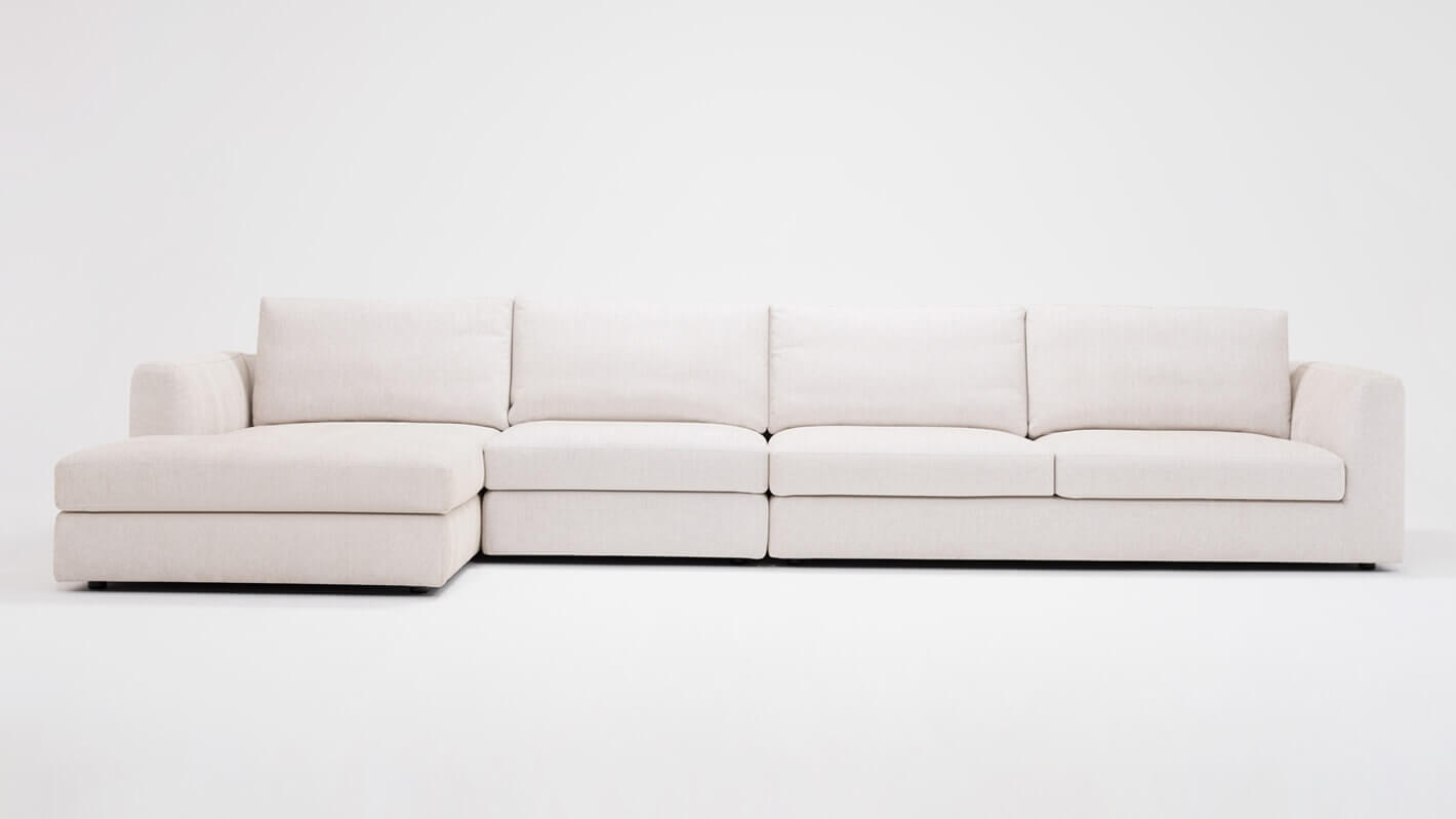 Cello 3 Piece Sectional Sofa With Chaise Eq3