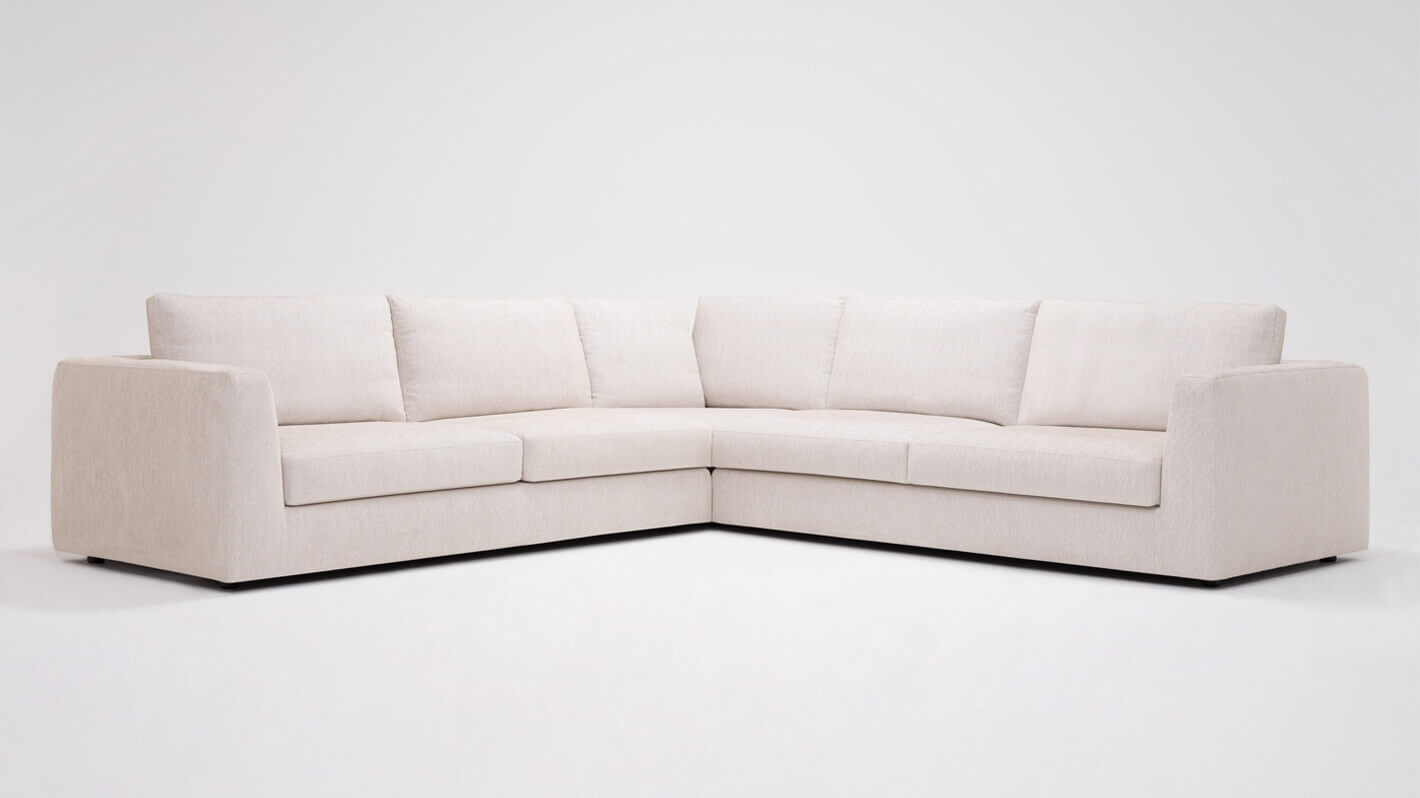 Cello 3 Piece Sectional Sofa With Corner Seat Eq3
