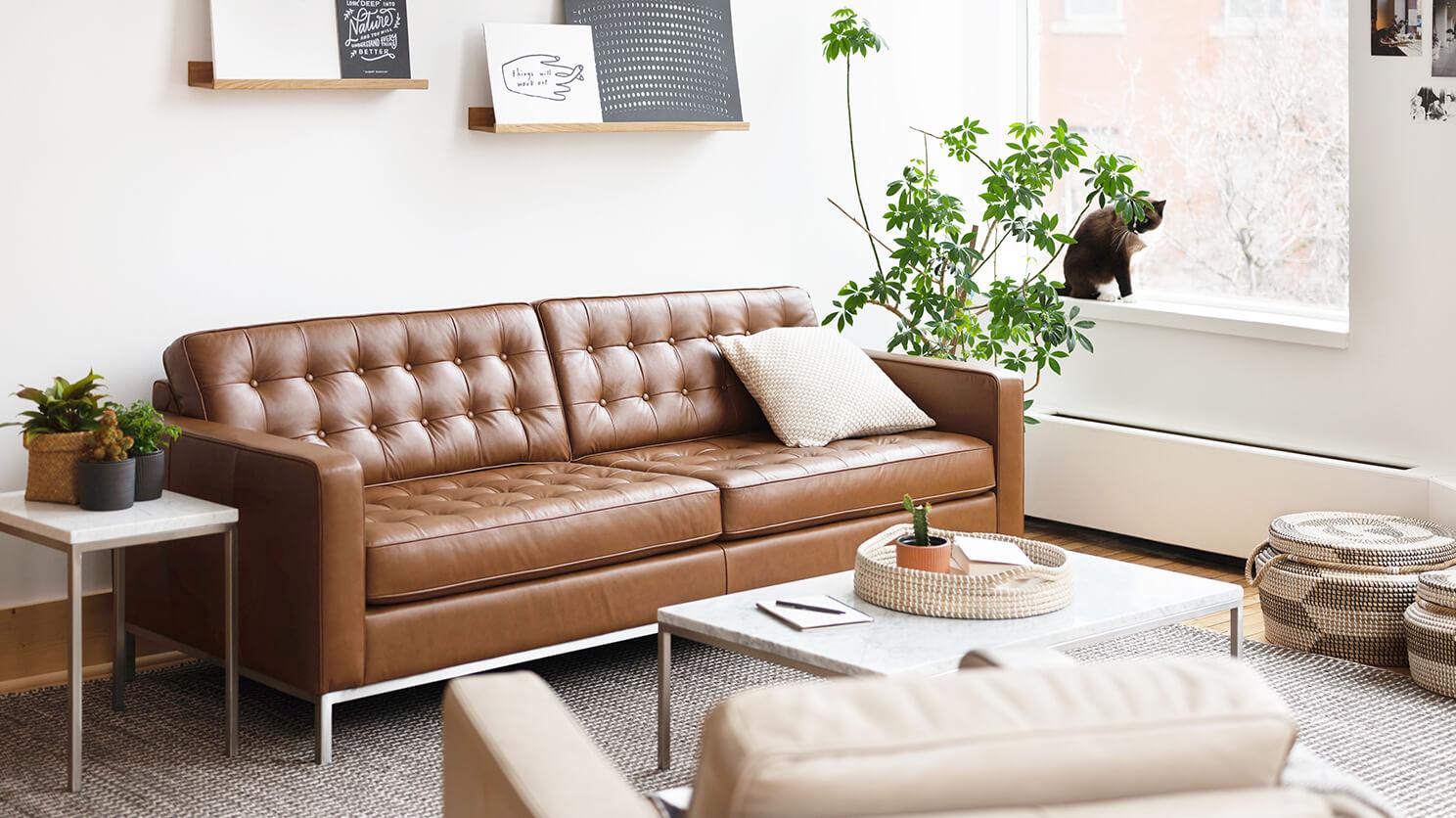 Reverie 86 Custom Sofa Modern Sofa Eq3