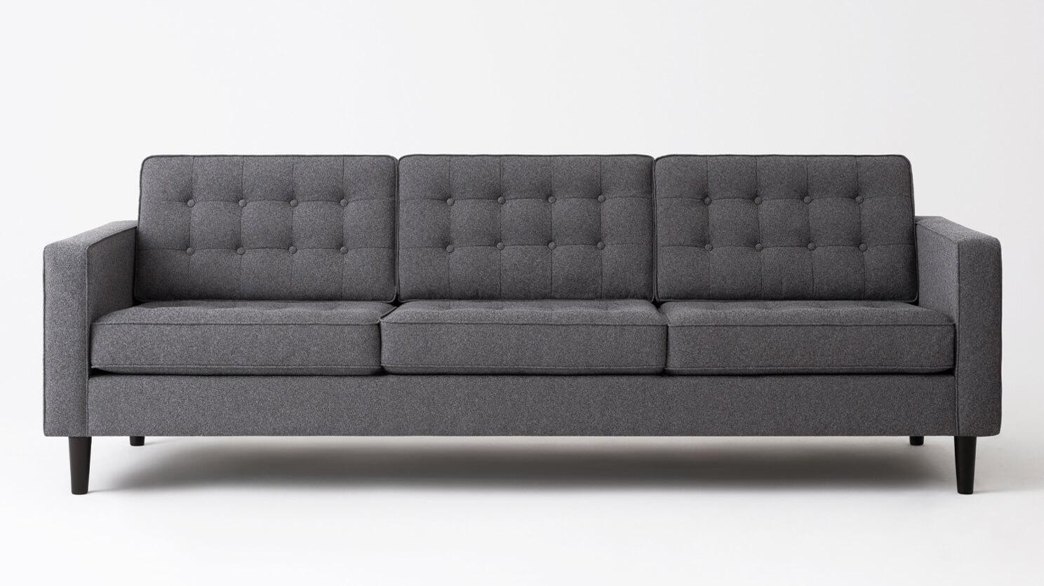 Reverie 92 Sofa Custom Made Leather