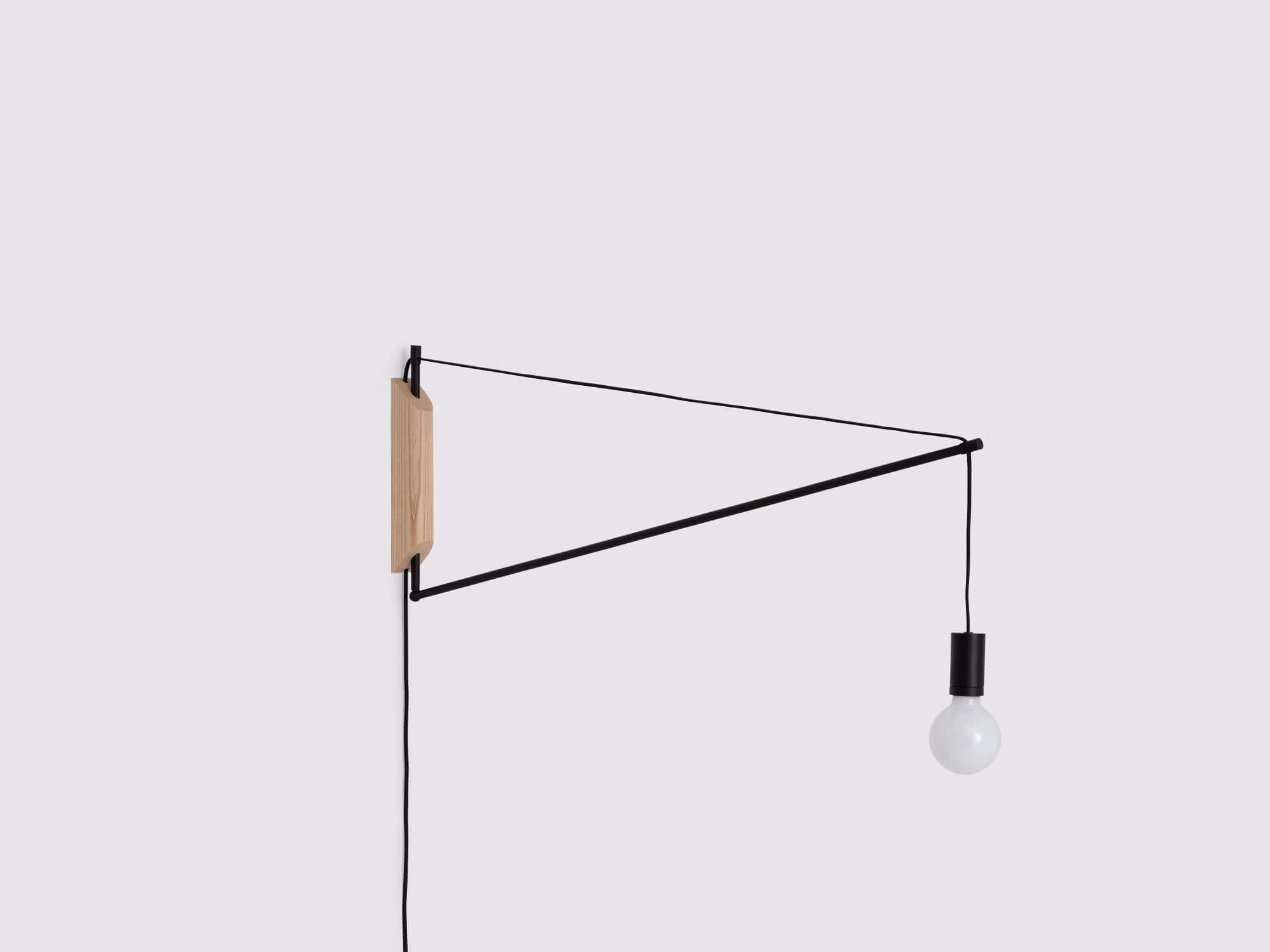 Custom Swing Arm Wall Lamp Bedroom Wall Lamps Eq3