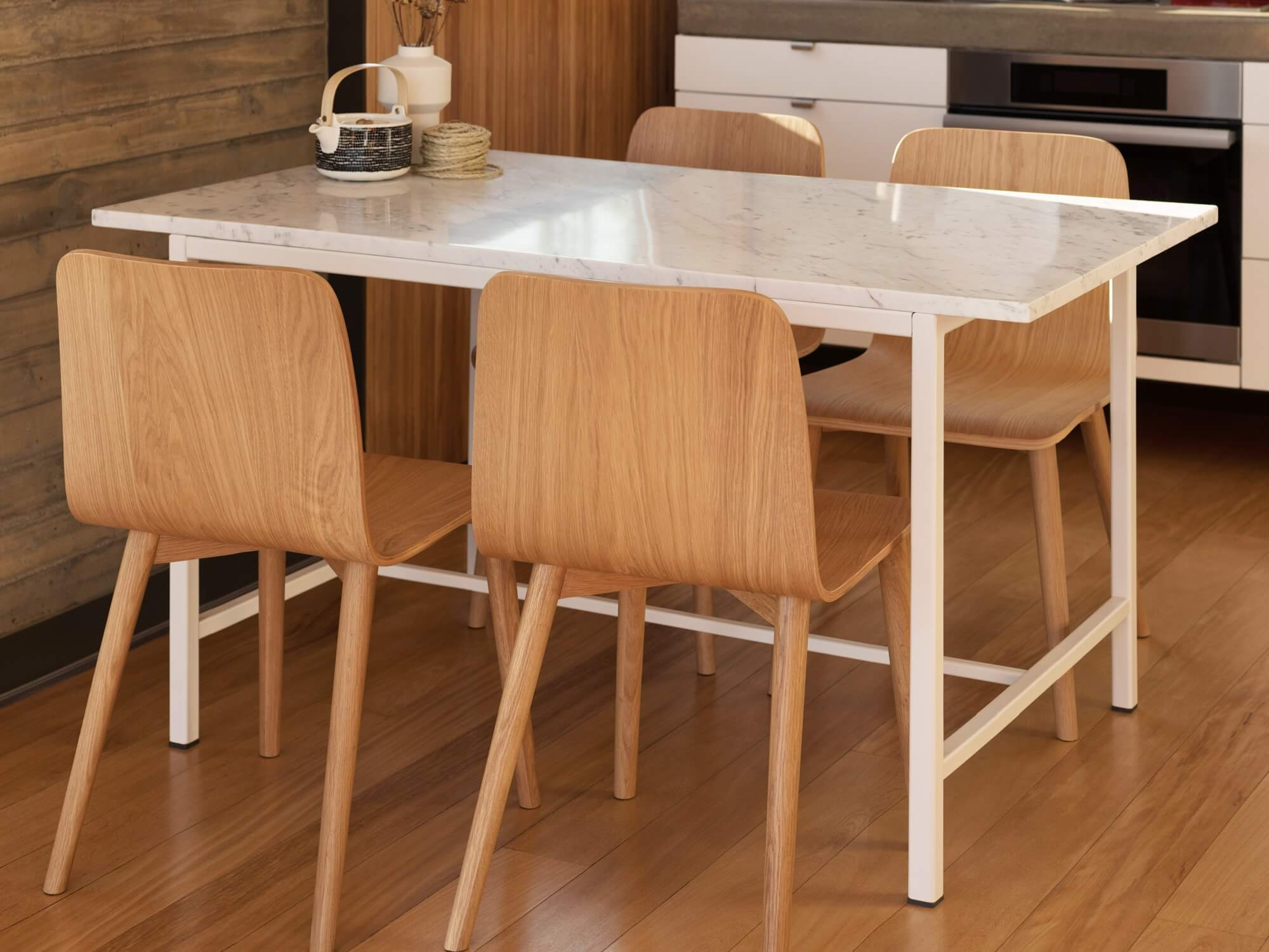 Kendall Custom Dining Table, Eq3 Dining Room Tables