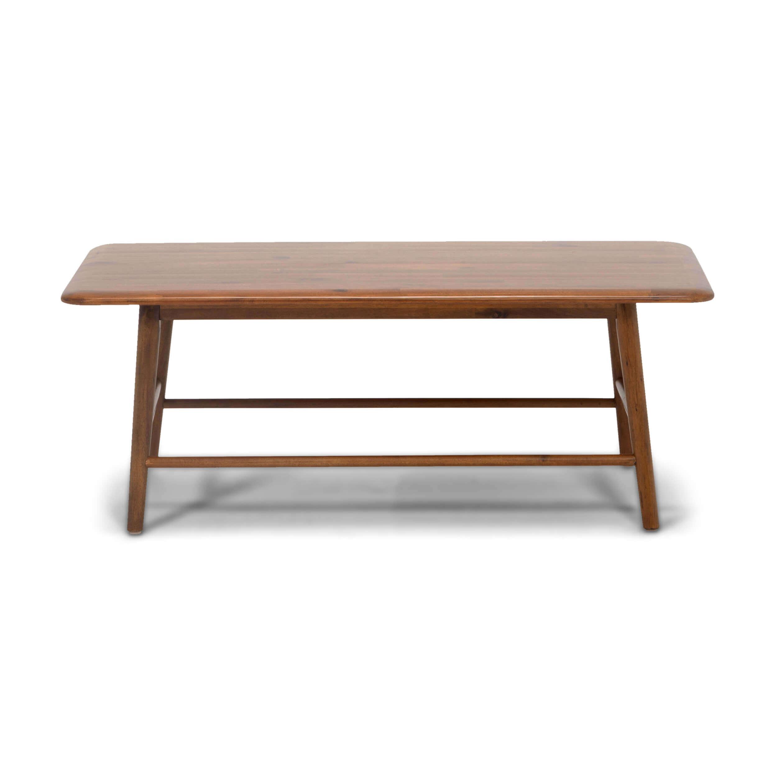 Kacia Rectangular Coffee Table Solid Wood Coffee Table [ 2500 x 2500 Pixel ]