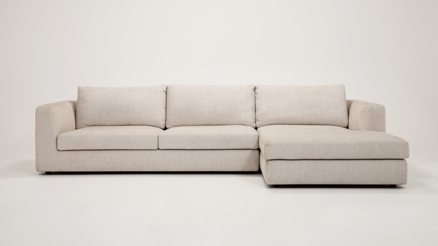 Cello 2-Piece Sectional Sofa with Chaise - Fabric | EQ3