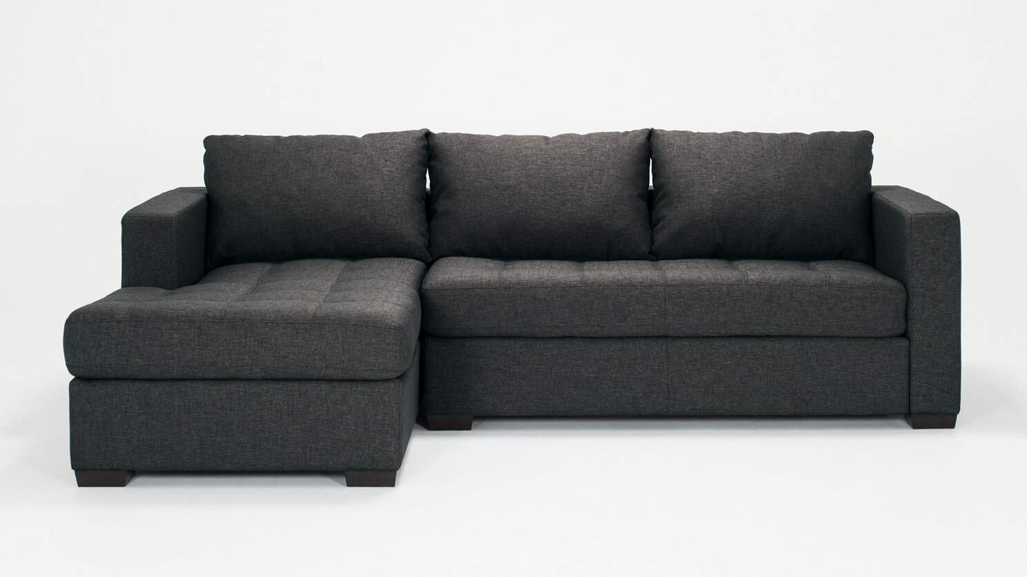 Porter 2-Piece Sectional Sofa with Chaise - Fabric | EQ3