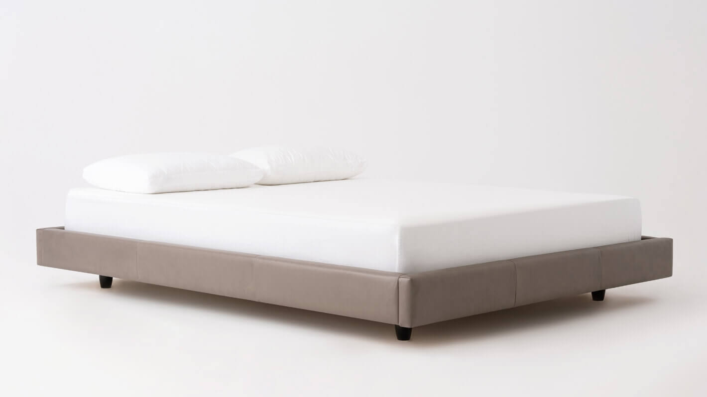 Bento Frame Bed   Leather | EQ3