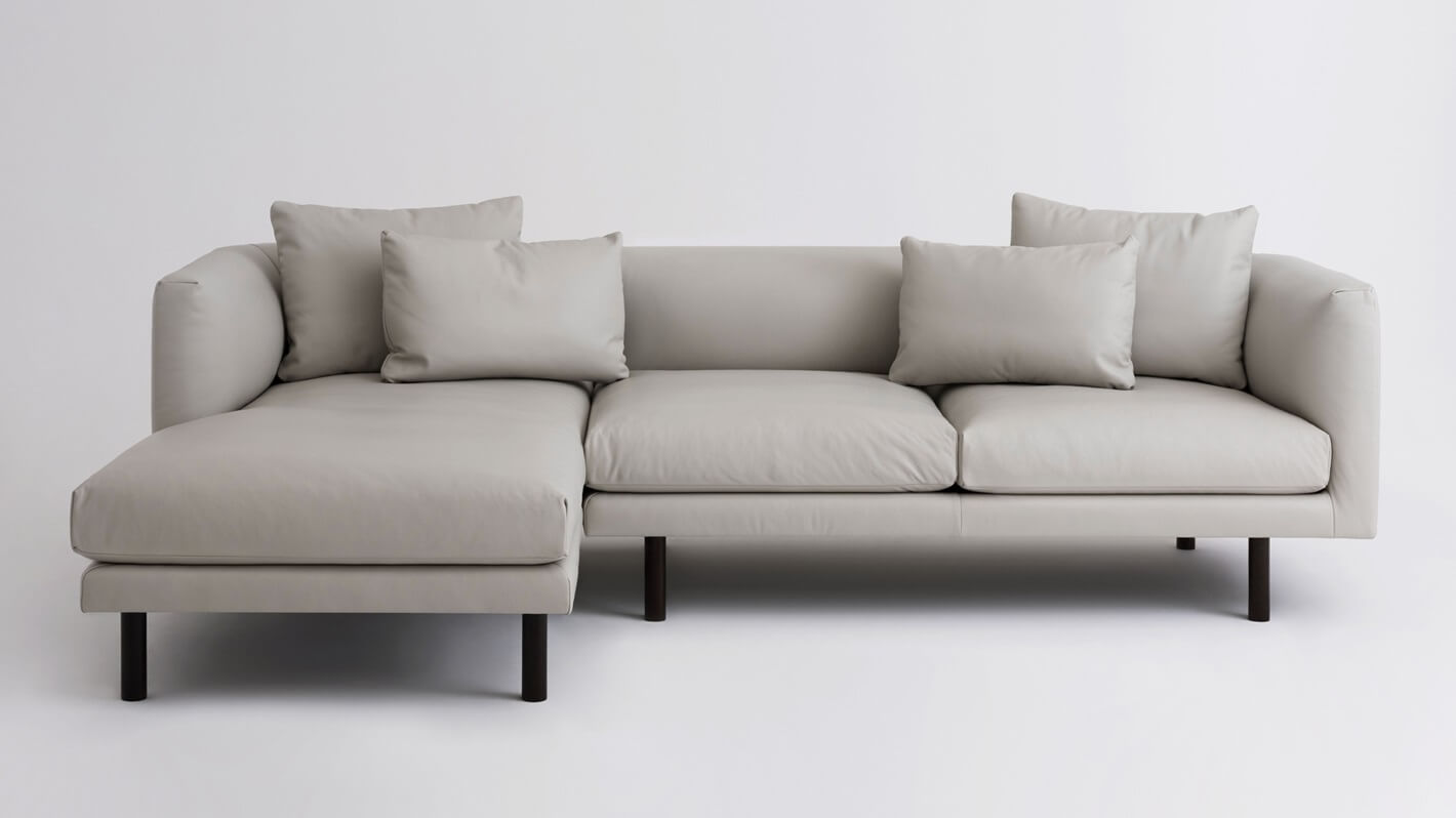 Fine Replay 2 Piece Sectional Sofa With Chaise Leather Gmtry Best Dining Table And Chair Ideas Images Gmtryco
