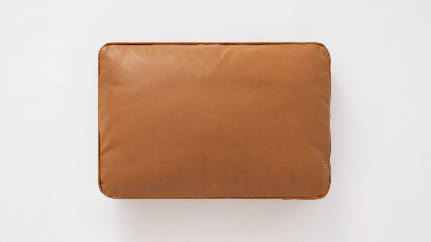 Hoekbank Riviera Taupe.Bank Square Pillow Leather