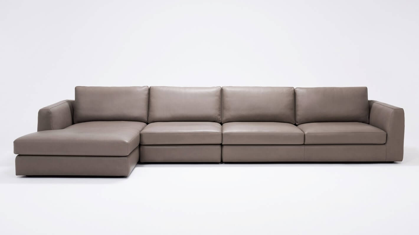Cello 3-Piece Sectional Sofa With Chaise