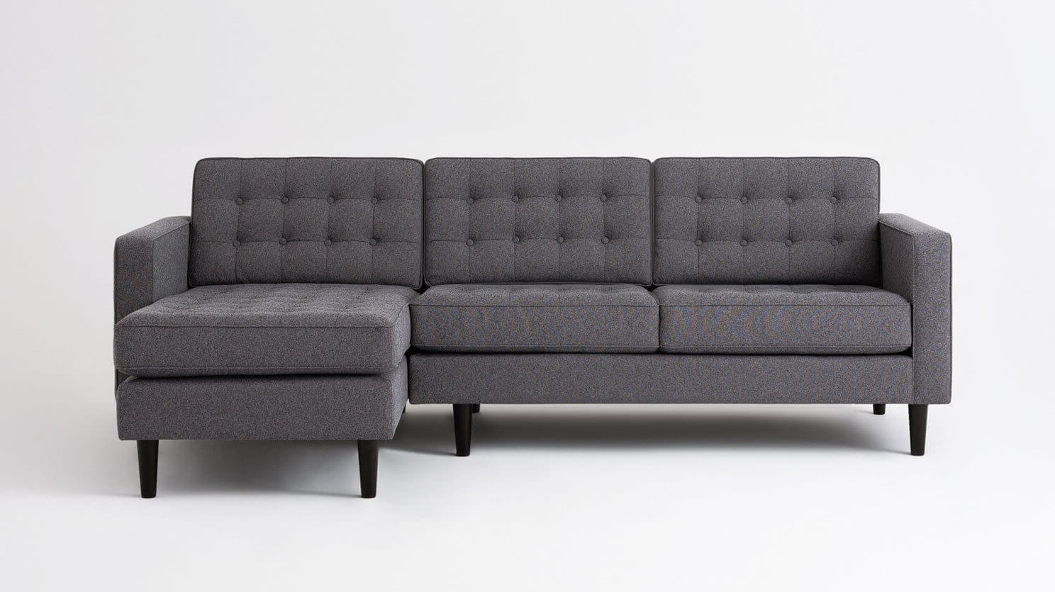 Reverie 2-Piece Sectional Sofa With Chaise   EQ3