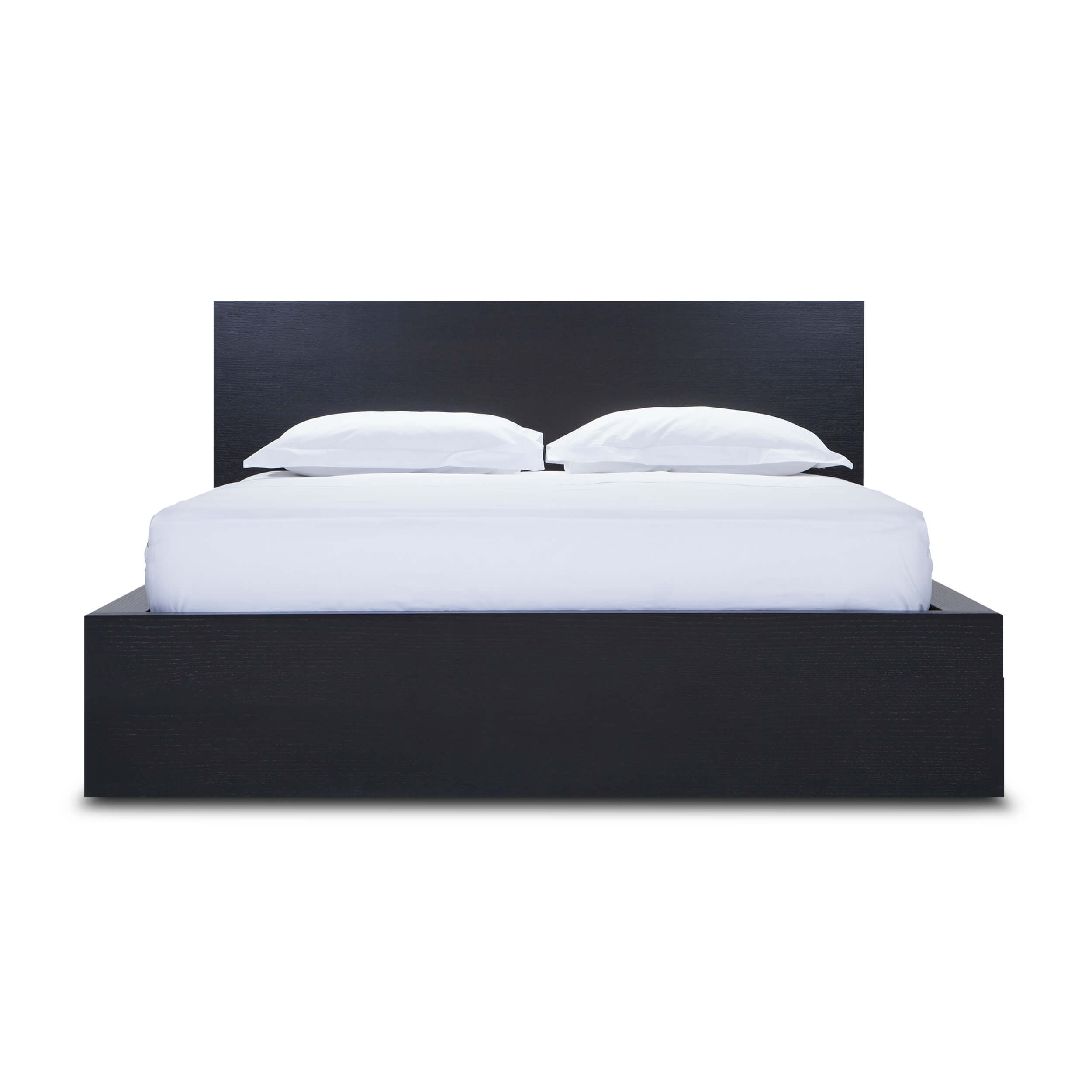 Simple Bed W Panel Headboard Eq3