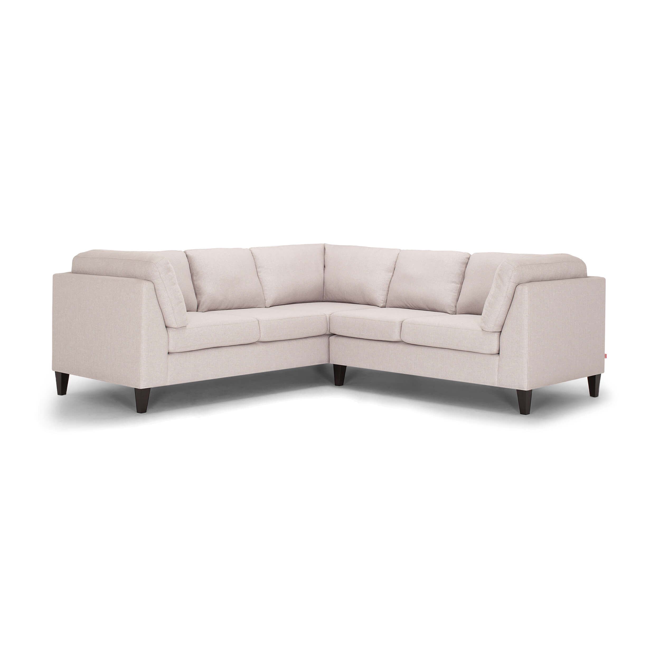 Salema 2 Piece Sectional Sofa Fabric Eq3