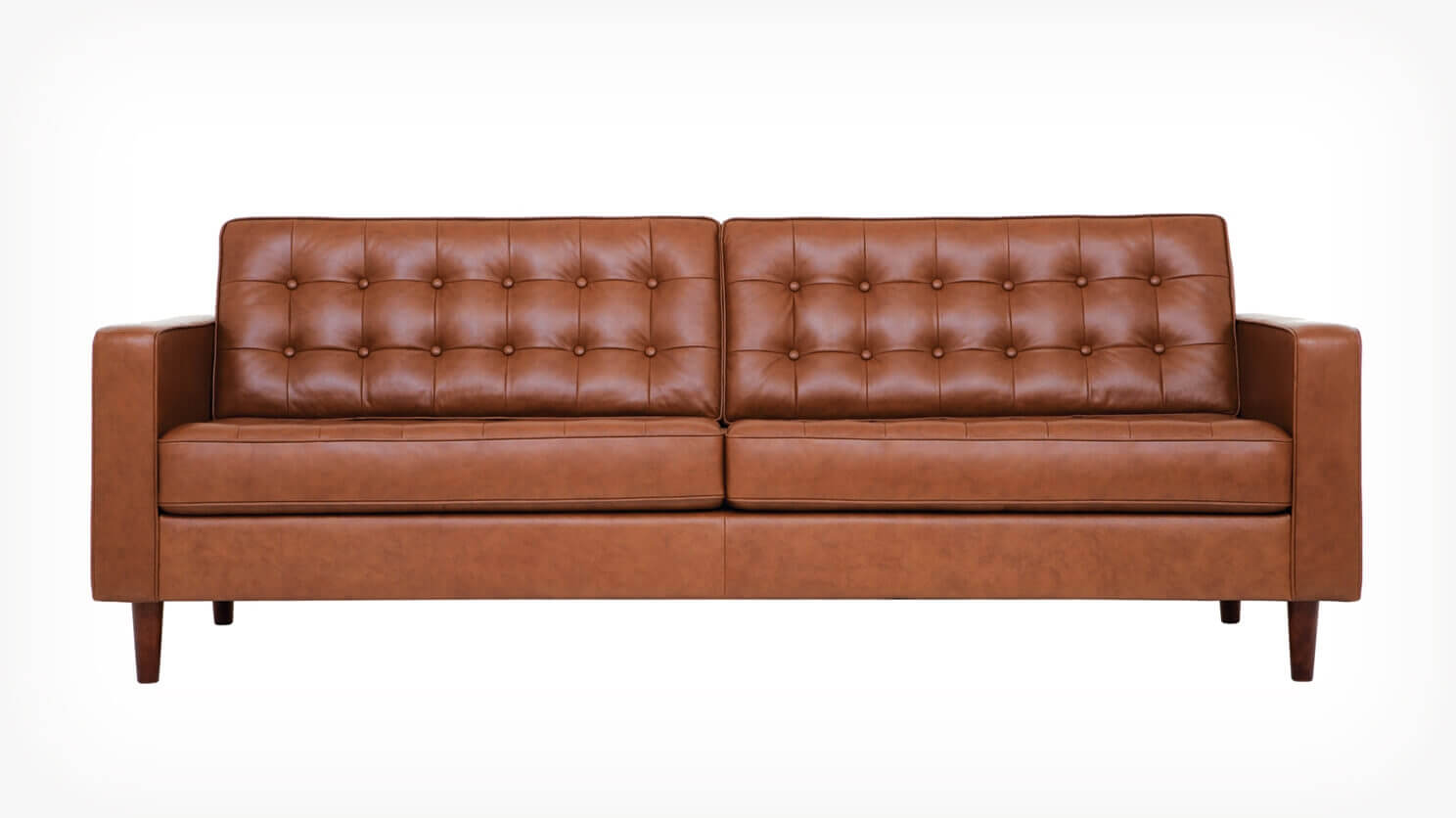 Reverie 86 Quot Sofa Leather Eq3