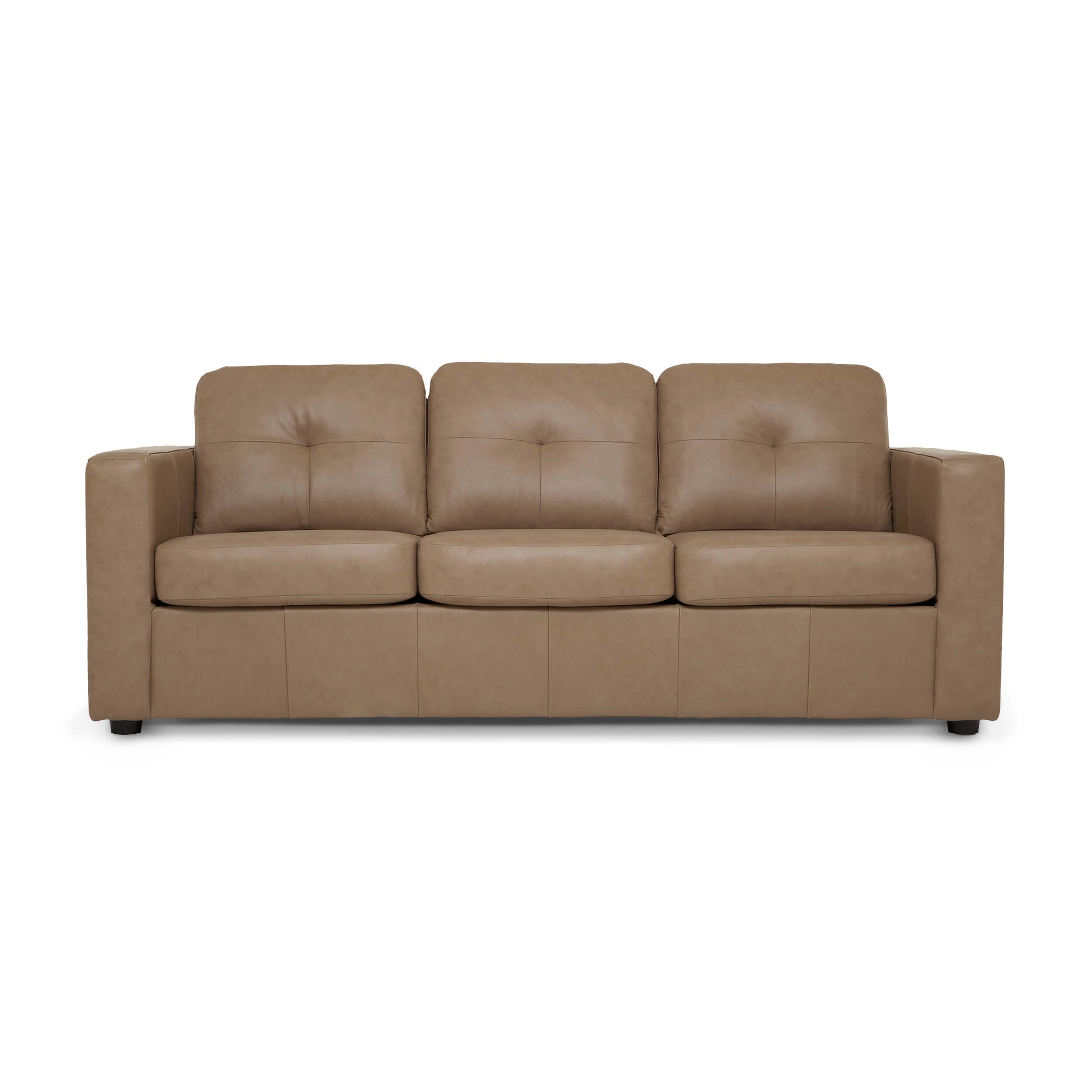 Solo Sofa Sleeper Leather Eq3