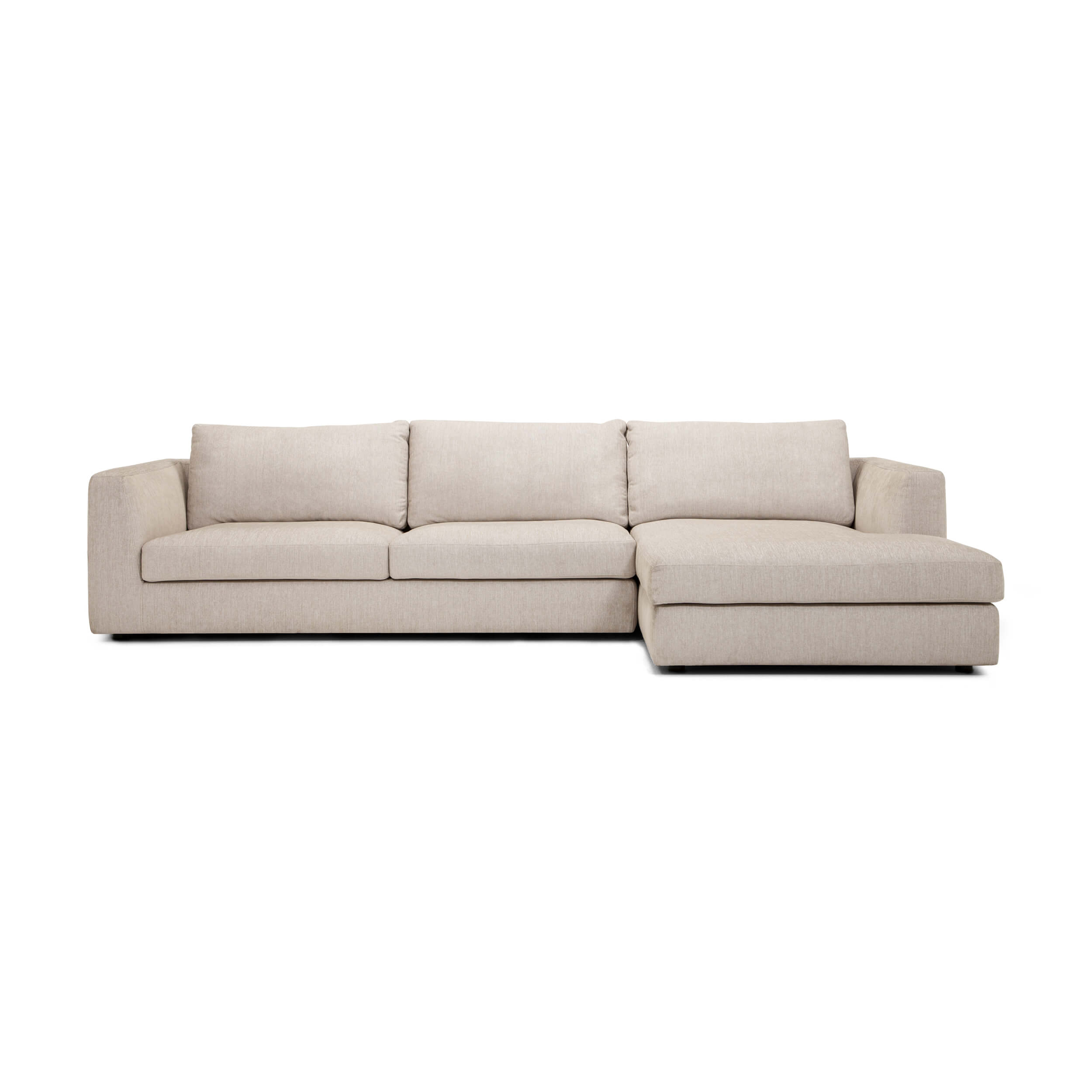 Cello 2-Piece Sectional Sofa With Chaise - Fabric