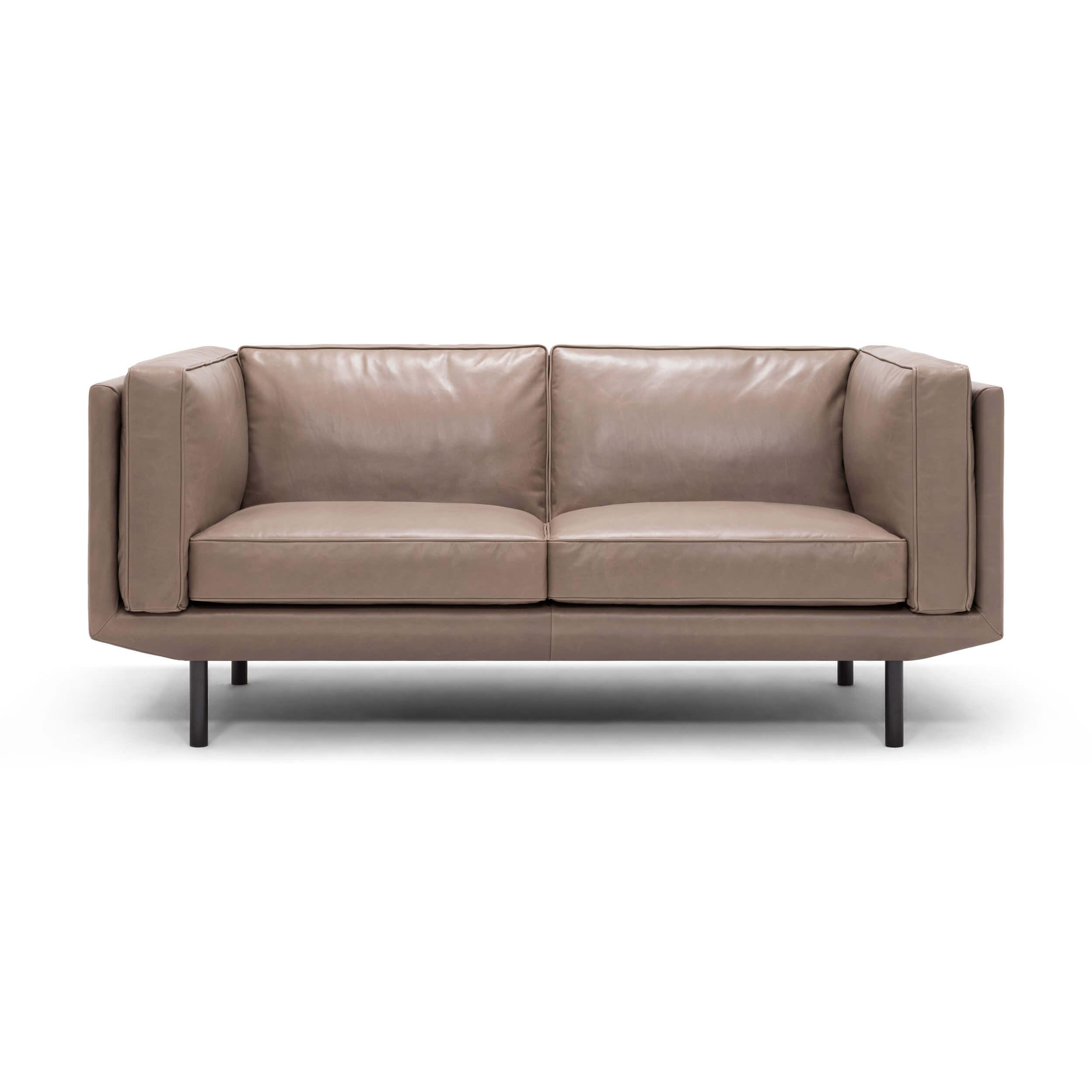 Plateau Loveseat - Leather