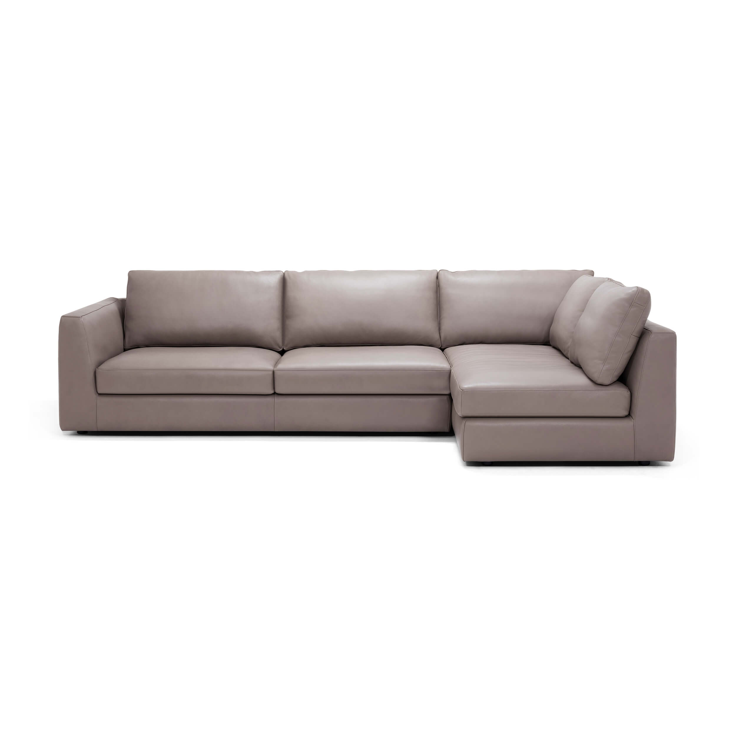 Cello 2-Piece Sectional Sofa With Full Arm Chaise