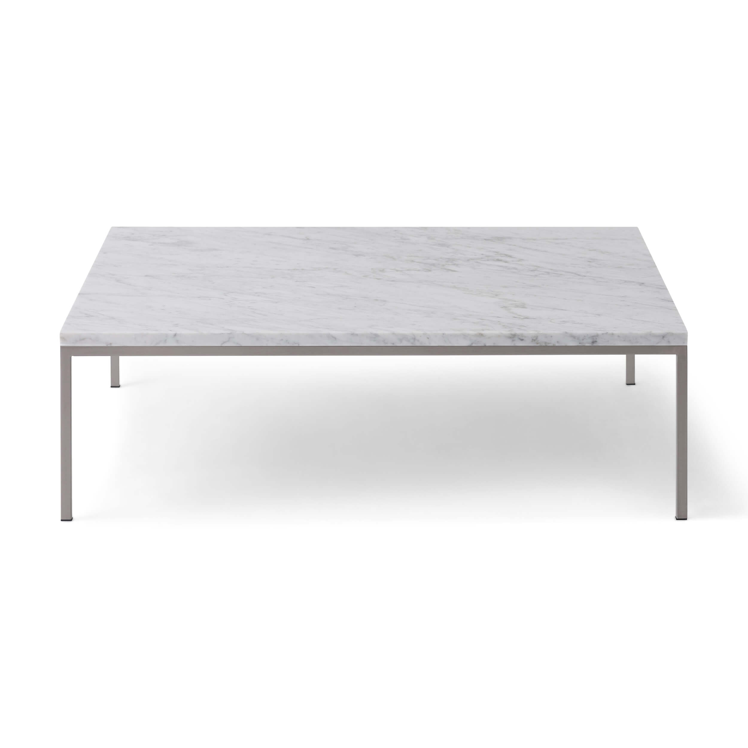 Glass And Metal Square Coffee Table In Black W 80cm: Custom Square Coffee Table