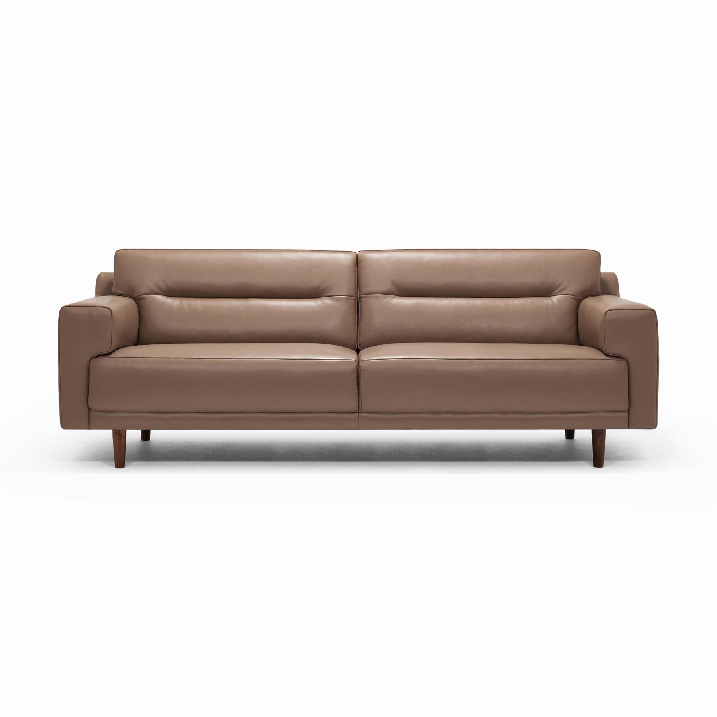 Remi 87 Quot Sofa Horizontal Pull Leather Eq3
