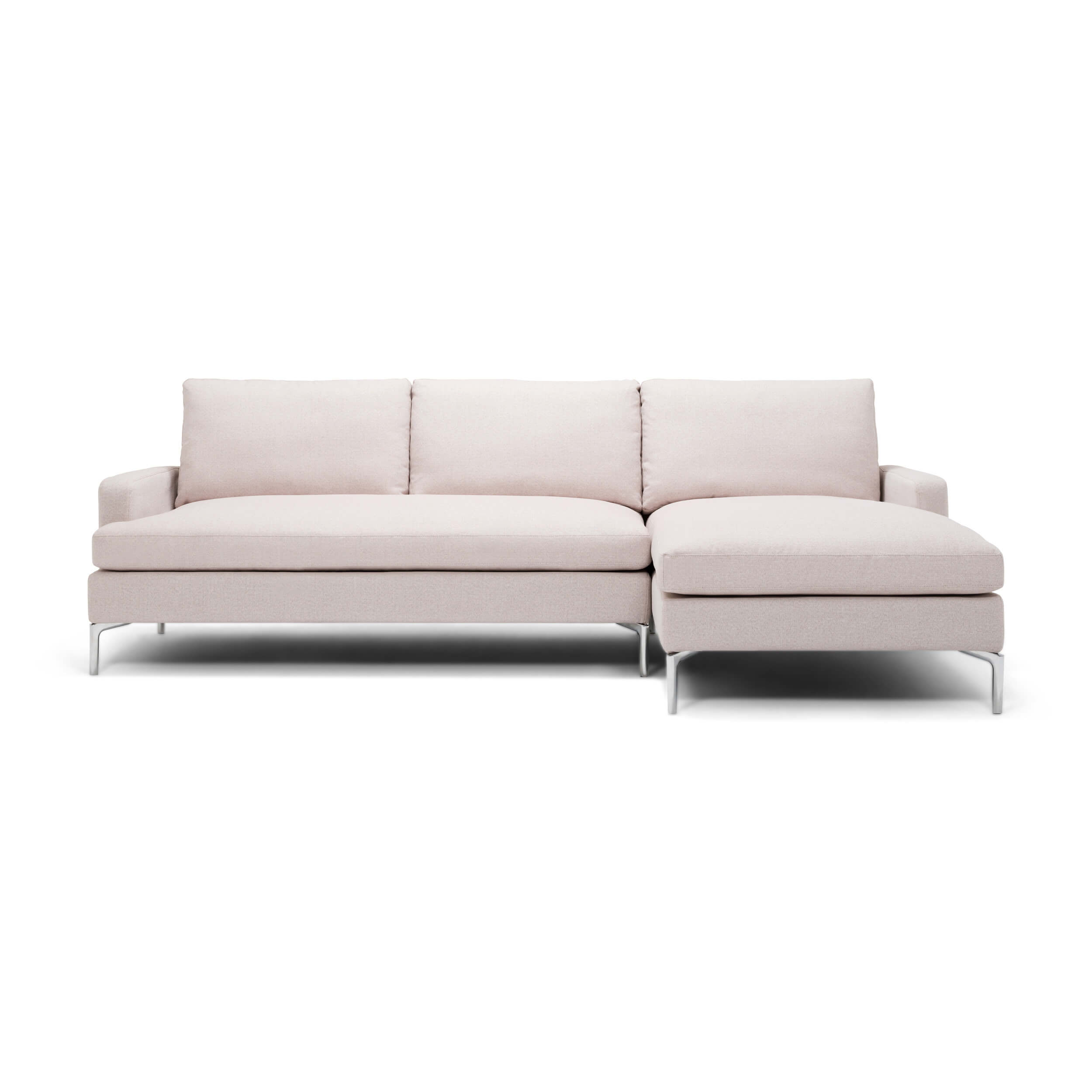 Eve Grand 2-piece Sectional Sofa With Chaise - Fabric