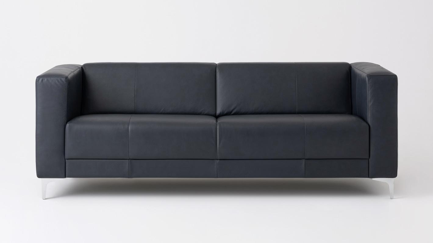 Stella Sofa Leather Eq3